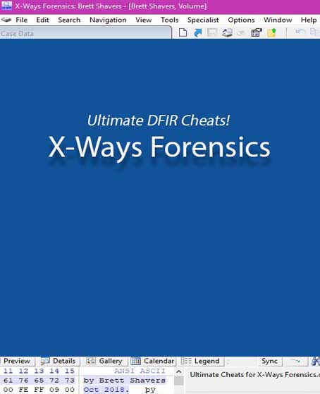 https://www.amazon.com/Ultimate-DFIR-Cheats-X-Ways-Forensics/dp/1727835859